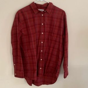 Madewell oversized button down shirt